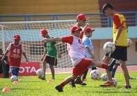 Kết thúc vòng sơ tuyển Trại hè bóng đá thiếu niên Toyota 2016