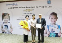Chevrolet tài trợ phẫu thuật cho trẻ dị tật hàm mặt