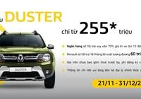 Chỉ 255 triệu đồng, rinh ngay Renault Duster