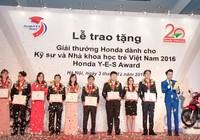 Honda Việt Nam trao giải thưởng Honda Y-E-S 2016