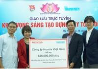 Honda Việt Nam chia sẻ khó khăn đồng bào Nam Trung Bộ