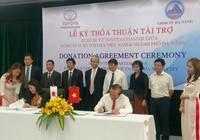 Toyota Việt Nam tặng Đà Nẵng hai xe buýt Toyota Coaster