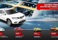 Chương trình khuyến mãi tháng 4 của Nissan Việt Nam