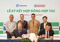 Tập đoàn Piaggio chọn Castrol cung cấp toàn bộ dầu nhớt
