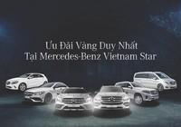 Ưu đãi vàng tại Mercedes-Benz Vietnam Star