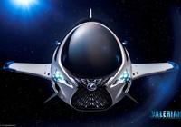 Phi thuyền SKYJET vào phim Valerian & TP ngàn hành tinh