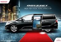 Honda Odyssey 2017 'Trọn tiện nghi, xứng đẳng cấp'