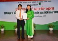 Phó Tổng giám đốc của Agribank sang làm Phó Tổng GĐ Vietcombank