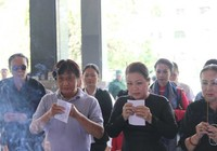 Chùm ảnh lễ viếng nhạc sĩ Phan Huỳnh Điểu và nhạc sĩ Phan Nhân