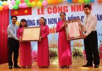 Trường mầm non Hoa Hồng đạt tiêu chuẩn chất lượng giáo dục