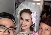Lễ rước dâu của Hoa hậu Diễm Hương diễn ra bí mật