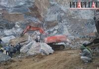 Hiện trường vụ sập mỏ đá Thanh Hóa qua ảnh