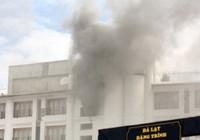 Khách sạn 5 sao ở Đà Lạt cháy lớn