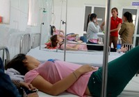 Nhiều công nhân công ty may nhập viện