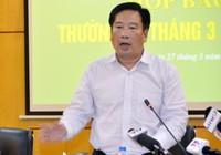 Xóa tư cách nguyên Thứ trưởng Bộ TN&MT Nguyễn Thái Lai