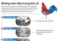 Những năm Dậu trong lịch sử