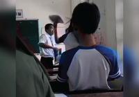 Clip: Thầy trò đánh nhau trong lớp học ở tỉnh Hậu Giang