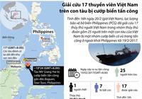 Giải cứu 17 người VN trên tàu bị cướp biển tấn công