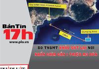 Bộ TN&MT khảo sát lại nơi nhấn chìm gần 1 triệu m3 bùn
