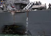Tàu chiến Mỹ gặp nạn: Hải quân 4 nước vào cuộc