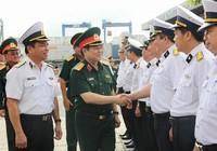 Bộ trưởng Ngô Xuân Lịch làm việc với Tân cảng Sài Gòn