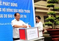 TP.HCM phát động ủng hộ miền Trung bị thiệt hại do bão
