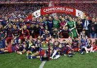 Barcelona lập cú đúp cúp Nhà vua trước Sevilla