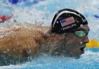 Siêu kình ngư Phelps giành HCV thứ 20 tại Olympic