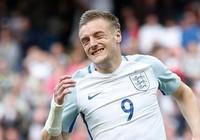 Vardy không có tên trong đội hình xuất phát của tuyển Anh