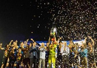 Giải U-21: Yokohama vô địch, Văn Toàn ẵm 3 giải
