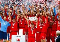 Đêm qua, Bayern vô địch lần thứ năm liên tiếp