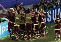 Đói nghèo không ngăn cản được U-20 Venezuela toàn thắng