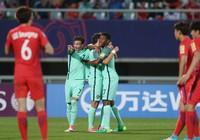 Đàn em Ronaldo 'bật' chủ nhà Hàn Quốc khỏi World Cup