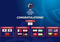 Futsal đã đủ 16 gương mặt dự VCK châu Á
