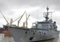 Tuần dương hạm Hải quân Pháp cập cảng Tiên Sa