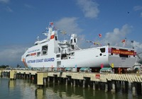 Hạ thủy 'soái hạm' CSB 8005 cho lực lượng Cảnh sát biển