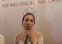 Hoa hậu công bố 'công trình khoa học' kéo dài chân 6 cm