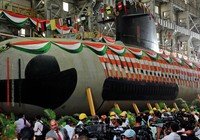 Ấn Độ ra mắt tàu ngầm 'tàng hình'