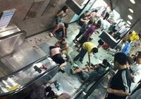 Giẫm đạp tại nhà ga Trung Quốc, nhiều người bị thương