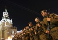 Quân đội và vũ khí Nga rầm rộ diễn tập duyệt binh