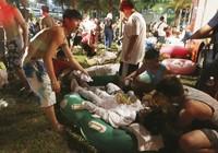 Cháy công viên nước Đài Loan: Hơn 500 người bị thương