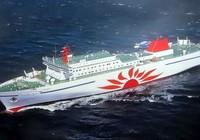 Phà biển Nhật Bản bốc cháy, gần 100 người sơ tán