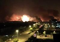 Nổ kinh hoàng tại Trung Quốc, sức công phá đến 21 tấn thuốc nổ