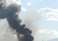 Clip máy bay Boeing chở 159 người bất ngờ bốc cháy