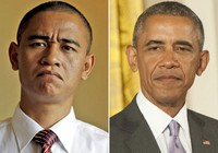 Nam diễn viên Trung Quốc y hệt tổng thống Obama