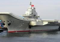 Ảnh vệ tinh cho thấy Trung Quốc sắp đóng xong tàu sân bay mới