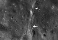 Mặt trăng xuất hiện vết đứt gãy do lực hút Trái đất