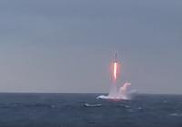 Nga phóng thành công tên lửa xuyên lục địa Sineva từ tàu ngầm