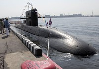 Tàu ngầm 'quái vật biển' của Nga tàng hình hơn cả 'hố đen'