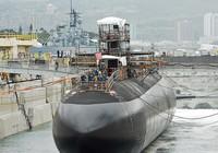 Tàu ngầm hạt nhân của Mỹ cập cảng Nhật Bản